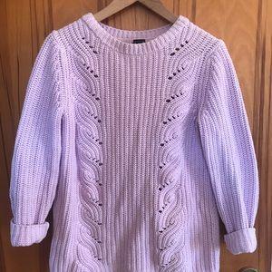 Lavender Gap Maternity Sweater